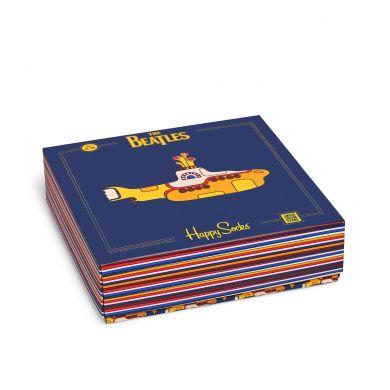 Dárkový box ponožek Happy Socks EP x The Beatles - 3 páry