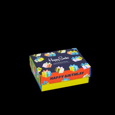 Dárkový box Happy Socks Happy Birthday - 2 páry