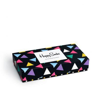 Dárkový box ponožek a kalhotek Happy Socks Triangle - 2 páry