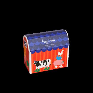 Dětský dárkový box ponožek Happy Socks Farm - 5 párů