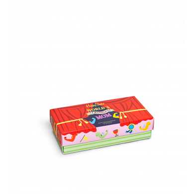 Dárkový box ponožek Happy Socks Mother´s Day - 3 páry