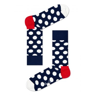 Dárkový box ponožek Happy Socks Navy - 4 páry