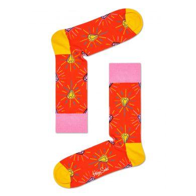 Sběratelská dárková krabička Happy Socks x Pink Panther - 6 párů