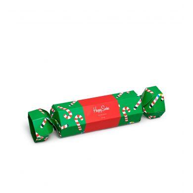 Dárková krabička Happy Socks Christmas Cracker Candy Cane
