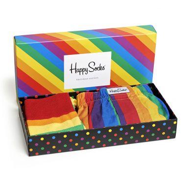 Dárkový box ponožek a trenýrek Happy Socks Pride - 2 páry