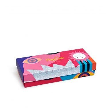 Dárková krabička Happy Socks Psychedelic