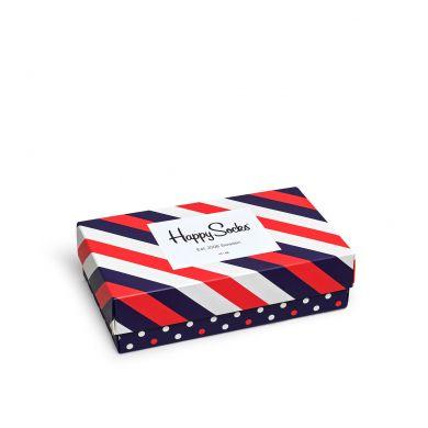 Dárkový box ponožek Happy Socks Stripe - 3 páry