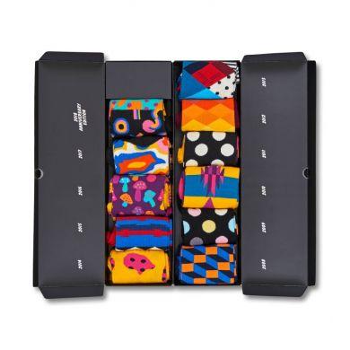Dárkový box ponožek Happy Socks 10 Years Anniversary - 10 párů