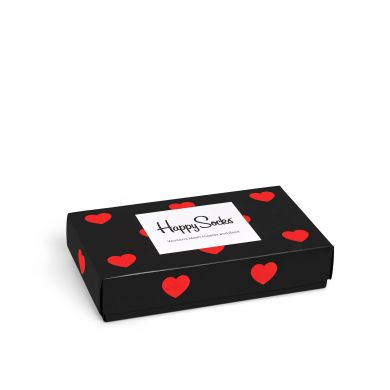 Dárkový box ponožek a kalhotek Happy Socks Valentine - 2 páry