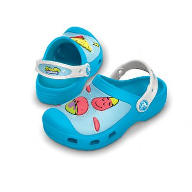 Spongebob & Patrick Star Splash in the Sea Custom Clog