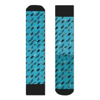 Tyrkysové ponožky Happy Socks s helmami X Billionaire Boys Club