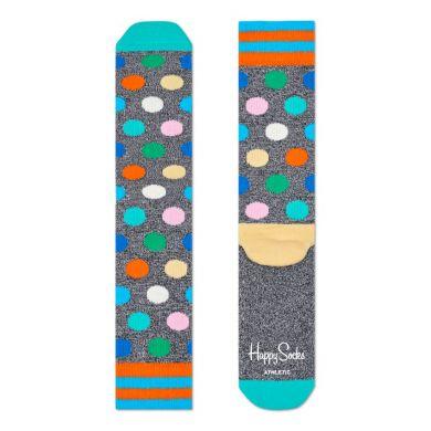 Barevné ponožky Happy Socks s barevnými puntíky, vzor Big Dot // kolekce Athletic