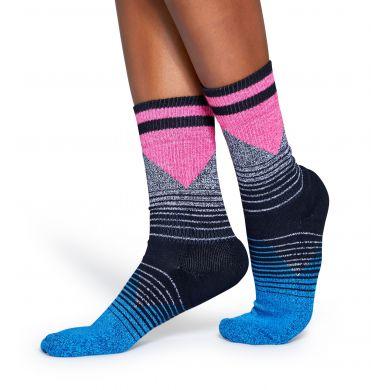 Barevné ponožky Happy Socks se vzorem Eighties // kolekce Athletic
