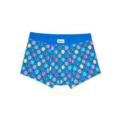 Modré boxerky Happy Socks s barevným vzorem Baloon