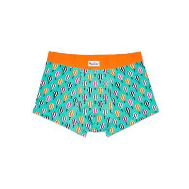 Tyrkysové boxerky Happy Socks s barevným vzorem Baloon