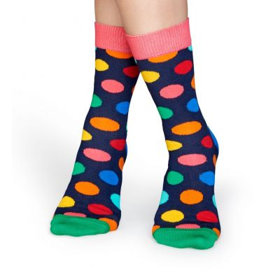 Barevné ponožky Happy Socks, vzor Big Dot