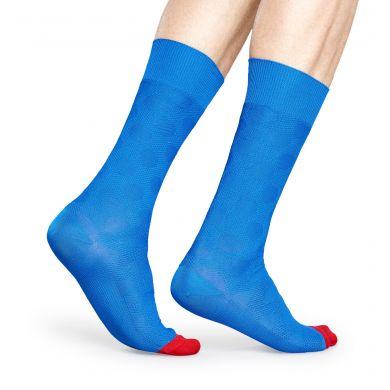 Modré ponožky Happy Socks, vzor Big Dot // kolekce Dressed