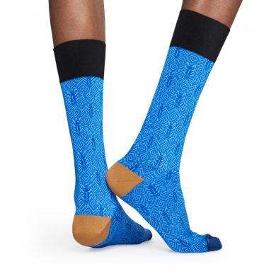 Modré ponožky Happy Socks, vzor Beetle // kolekce Dressed