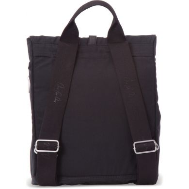 BLACK WAXED CANVAS BACKPACK