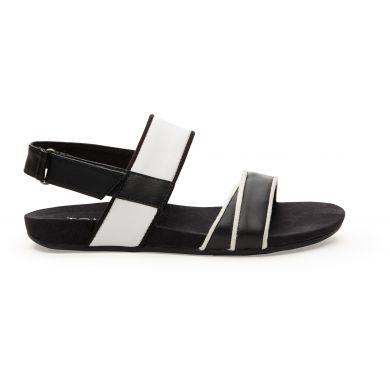 Černobílé dámské sandále TOMS Tierra