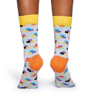 Ponožky Happy Socks s barevnými cihlami, vzor Bricks