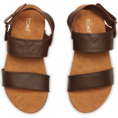 Hnědé pánské sandále TOMS Moreno