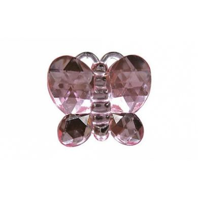 Butterfly Rhinestone Pink