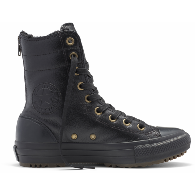 Černé Converse Chuck Taylor All Star Hi-Rise Boot