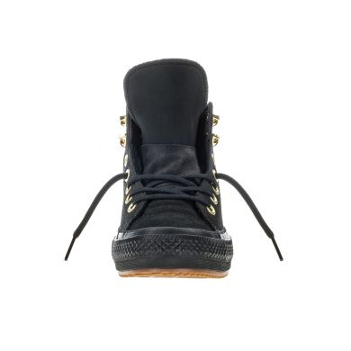 Černé Converse Chuck Taylor All Star Waterproof Nubuck Hi