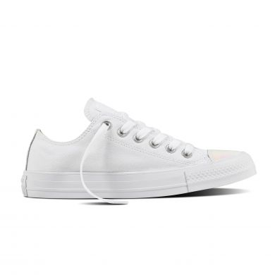 Bílé Converse Chuck Taylor All Star Embossed Holographic Ox