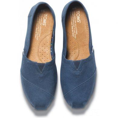 Modré pánské TOMS Classic Alpargatas