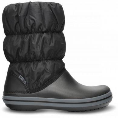 Winter Puff Boot Kids Black/Charcoal
