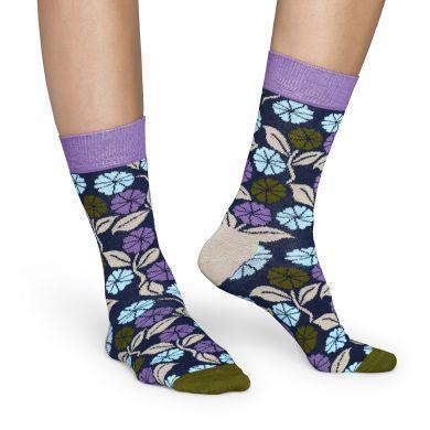 Barevné ponožky Happy Sock s květy, vzor Desert Flower