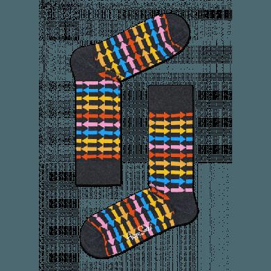 Barevné ponožky Happy Socks se šipkami, vzor Direction