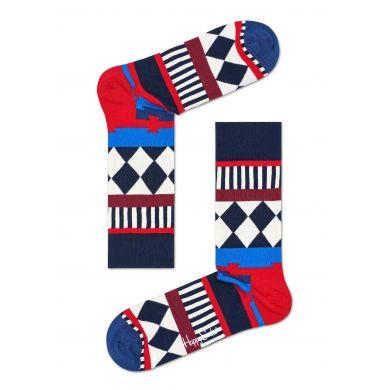 Barevné ponožky Happy Socks se vzorem Disco Tribe - 2015 // 10 YEARS ANNIVERSARY
