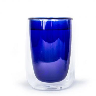 Modrá termo sklenička Fundamental Berlin Doppler Glass