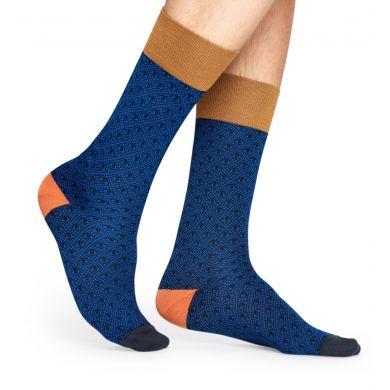 Modré ponožky Happy Socks, vzor Eye // kolekce Dressed
