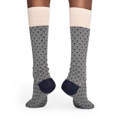 Šedé ponožky Happy Socks, vzor Eye // kolekce Dressed