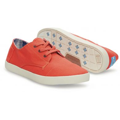 Fiesta Red Canvas Women's Paseos