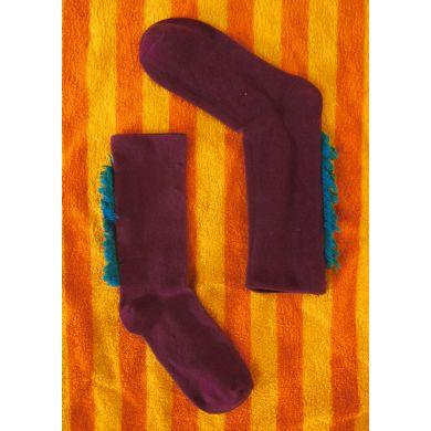 Červené ponožky Happy Socks // kolekce Special Special