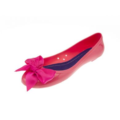 Ballerina jelly with solid color fuchsia