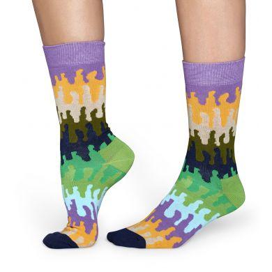 Barevné ponožky Happy Socks se vzorem Goo