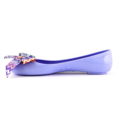 Jelly Ballerina With Printed Bow Avio