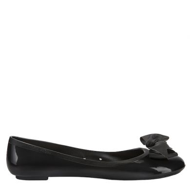 Jelly Ballerina Solid Flake Black