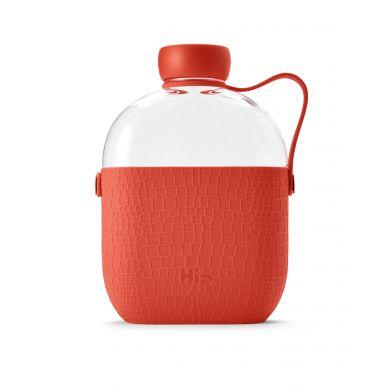 Hip Bottle 650ml Coral