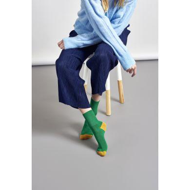 Dámské zelené ponožky Happy Socks Marina // kolekce Hysteria