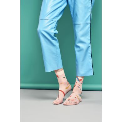 Dámské barevné ponožky Happy Socks Mia // kolekce Hysteria