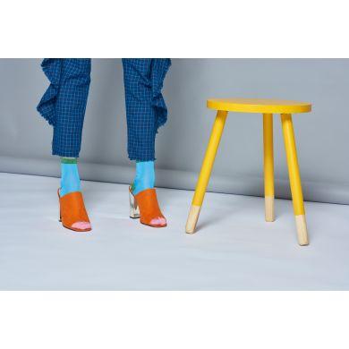 Dámské světle modré ponožky Happy Socks Liza  // kolekce Hysteria