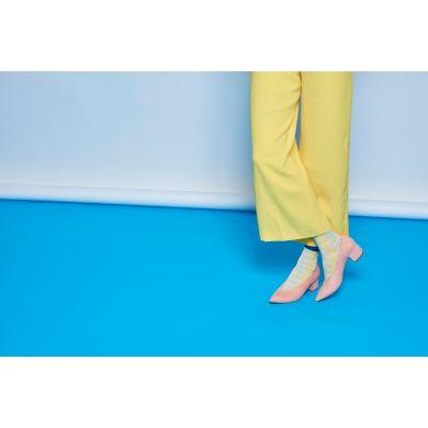 Dámské žluté ponožky Happy Socks Ray  // kolekce Hysteria
