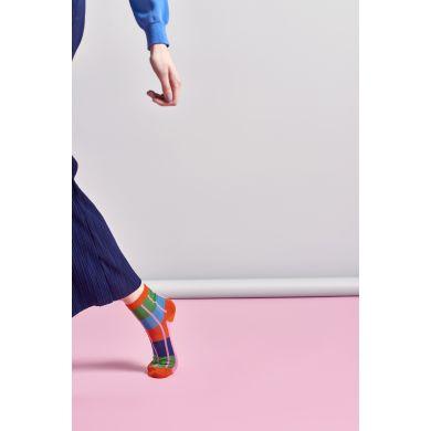 Dámské barevné ponožky Happy Socks Simone // kolekce Hysteria